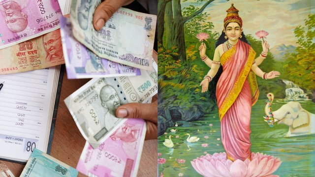 An Indian Minister Wants to Put Pictures of Goddess Lakshmi on Rupee Notes to Boost the Economy