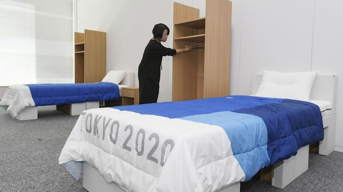 The Tokyo Olympics Will Feature Recyclable Cardboard Beds... But Can Athletes Have Sex in Them?