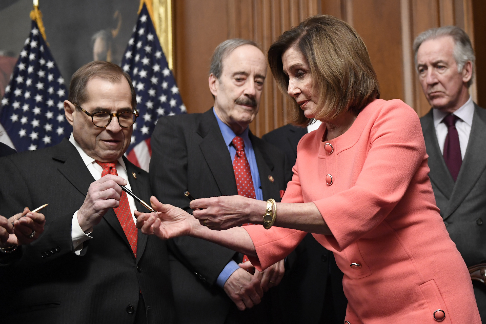 Conservatives Are Flipping Out Over Nancy Pelosi's Pens