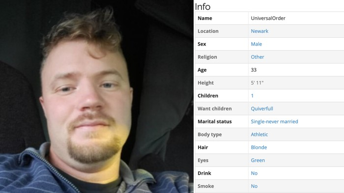 We Found the Profile of an Accused Member of a Neo-Nazi Terror Cell on a Dating Site for Racists