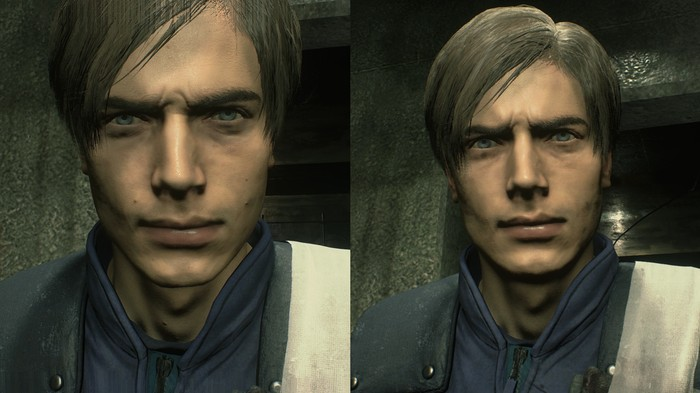 This 'Resident Evil 2' Mod Removes Moles From Leon's Face. But Why?