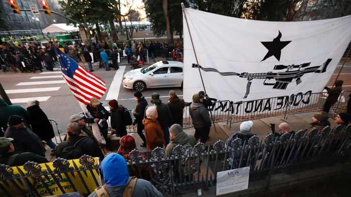 'This Is A Show of Force': Gun Rights Advocates and Far-Right Extremists Descend on Richmond
