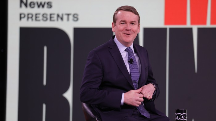 'That's an Accurate Description:' Michael Bennet Agrees He's the Bland White Guy in the Room — But He's Still Here
