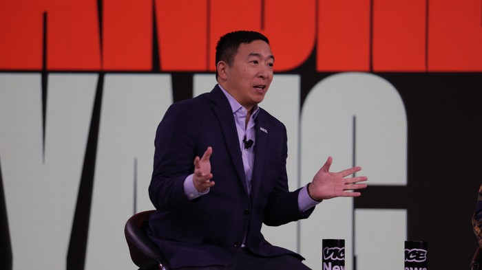 Andrew Yang Says It's Cool to Joke About Asians Being Good at Math