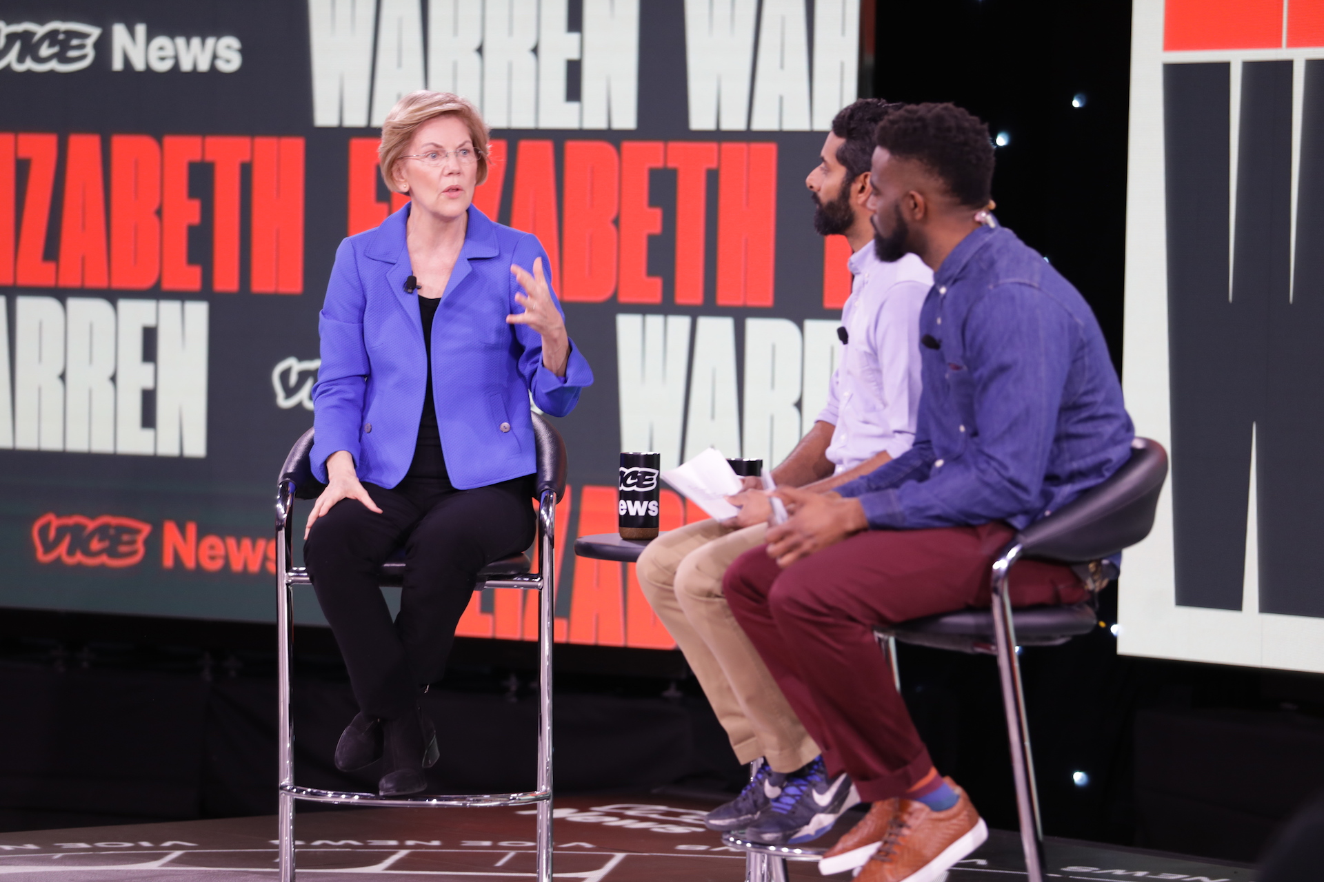 Warren Says Troops Are Coming Home and Black Colleges Are Getting Funded. Period. - vice