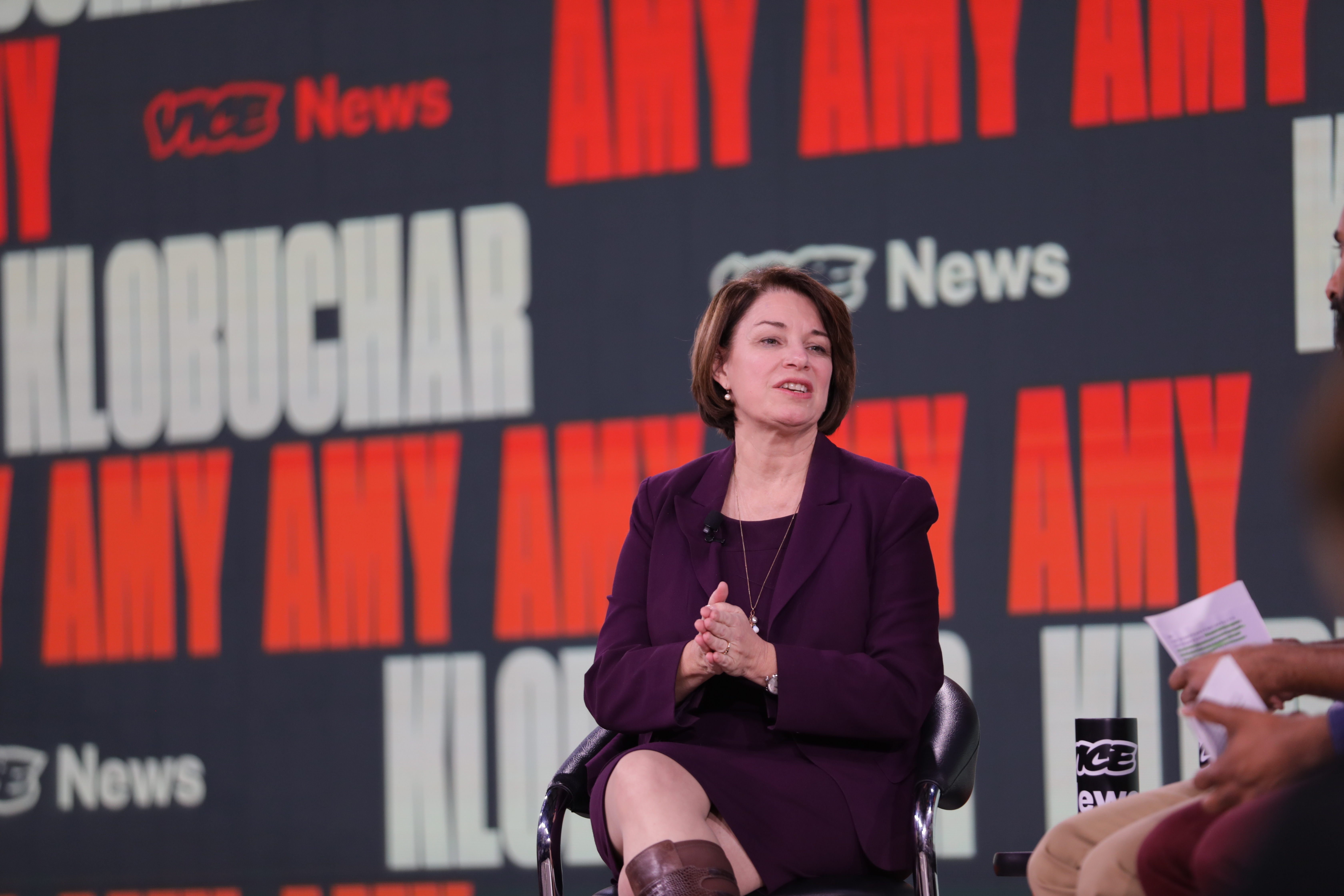 Amy Klobuchar Was Asked If She Was the Kind of 'White Moderate' MLK Called a 'Stumbling Block' to Freedom. Here's How She Replied. - vice