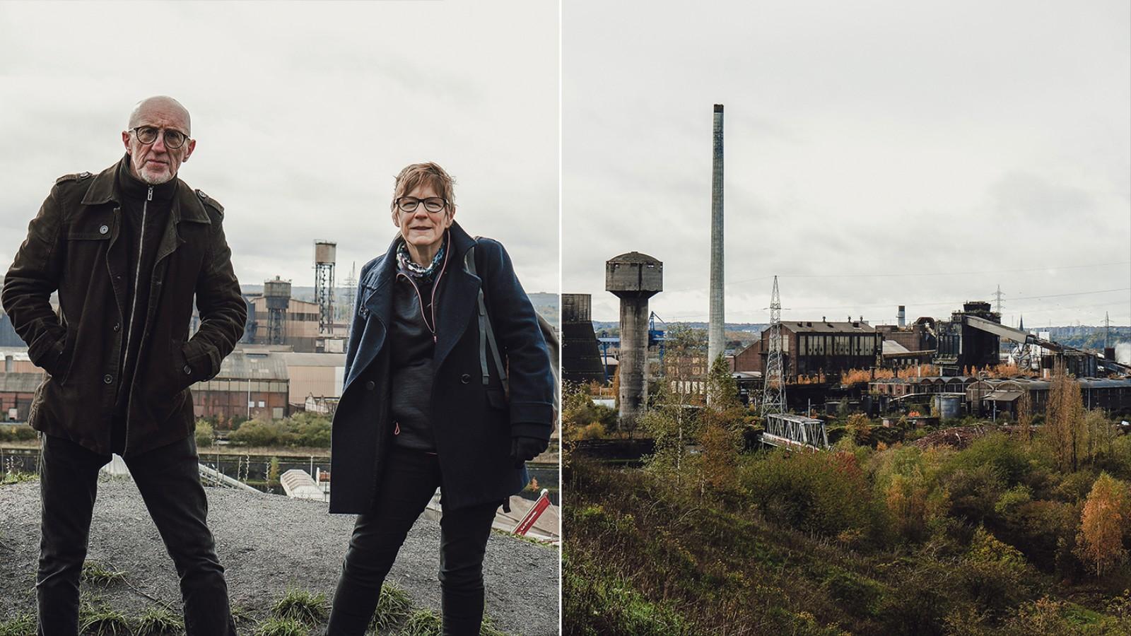 Deux punks retraité·es nous racontent le côté séduisant de leur Charleroi