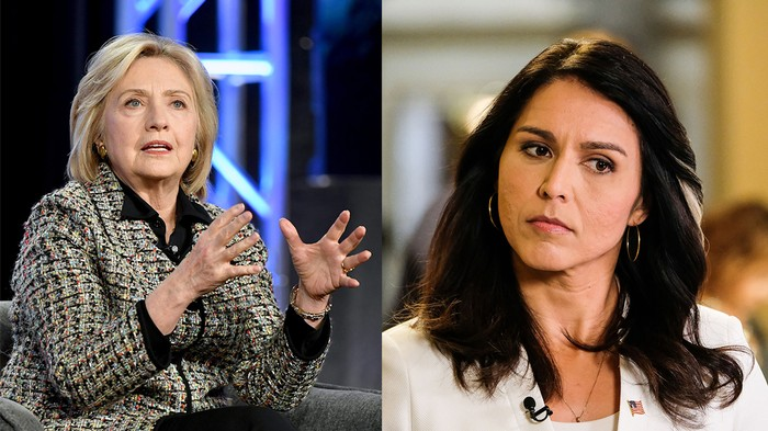 Tulsi Gabbard Is Now Suing Hillary Clinton for $50 Million Because Why Not?