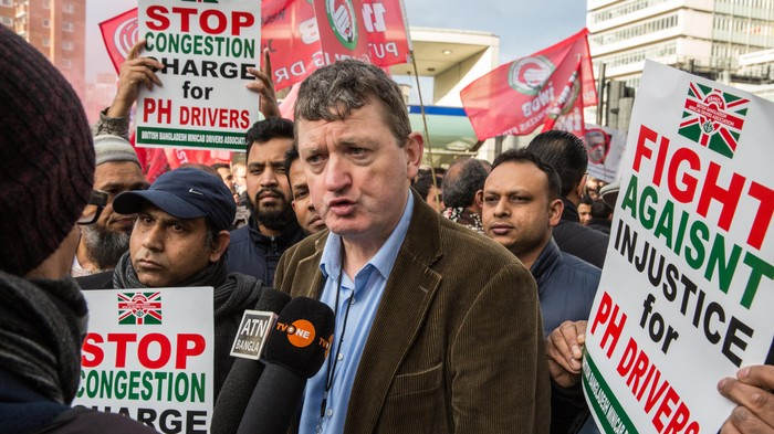 Police Tried to Jail a Trade Union Leader for Using a Megaphone