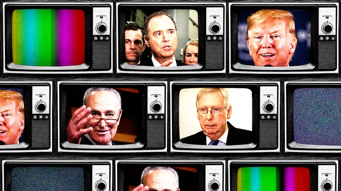 Adam Schiff Pulled a Ton of Witnesses into Trump's Impeachment Trial. They're Just on Video.