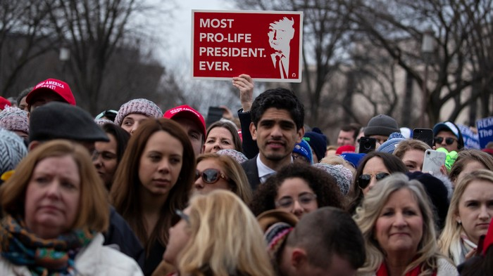 Trump Showed up at the March for Life and Said Everything Anti-Abortion Activists Want to Hear