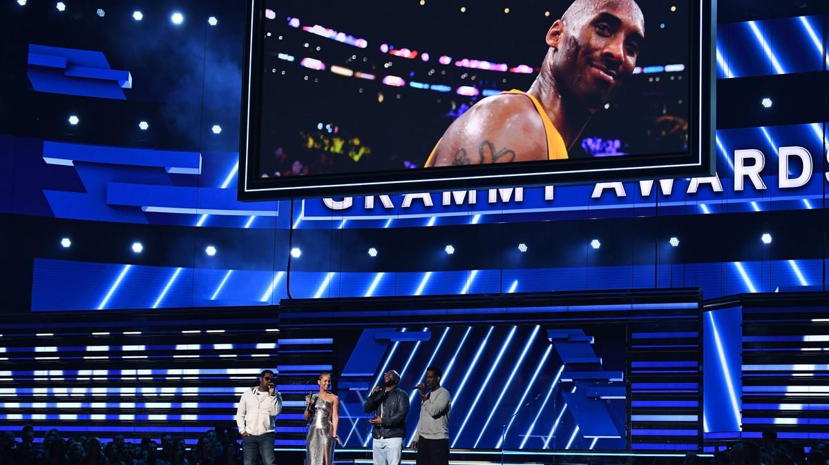 Alicia Keys, Boyz II Men Open Grammys With Kobe Bryant Tribute
