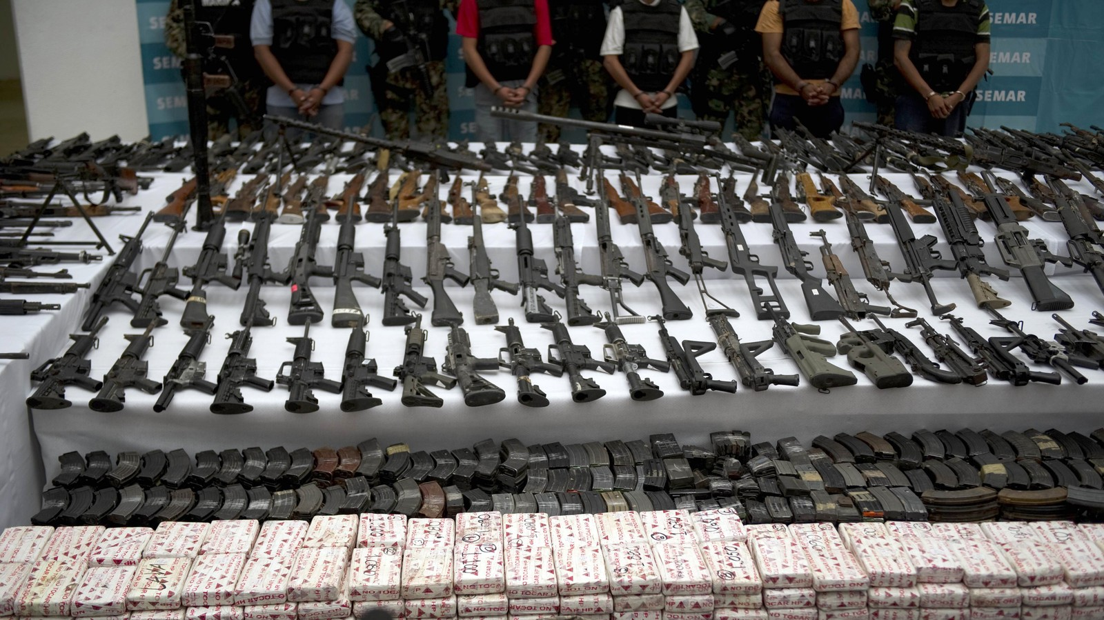 European Gun Makers Are Quietly Supplying the Mexican Drug Wars