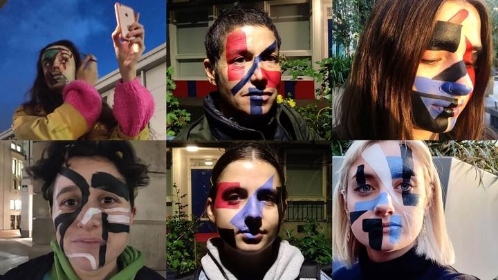 These activists use makeup to defy mass surveillance