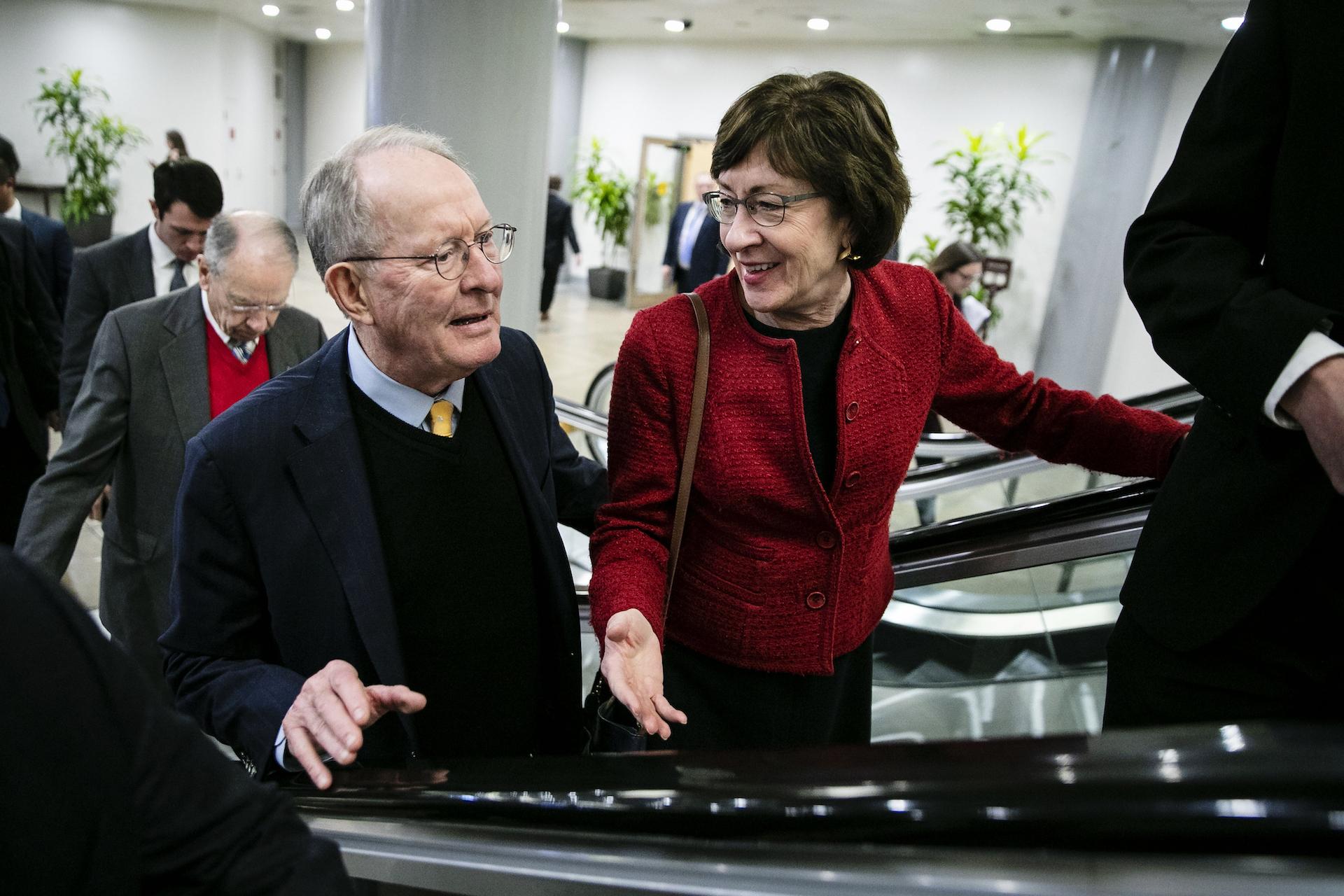 , A Key Swing GOP Senator Says No to Impeachment Witnesses, Saubio Making Wealth