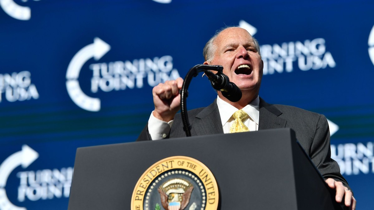 , Rush Limbaugh Said He Has Advanced Lung Cancer: 'I Wish I Didn't Have to Tell You This', Saubio Making Wealth
