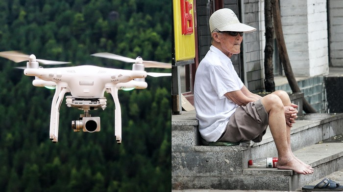China Is Using Drones to Bust People Not Wearing Facemasks Amid Coronavirus Outbreak