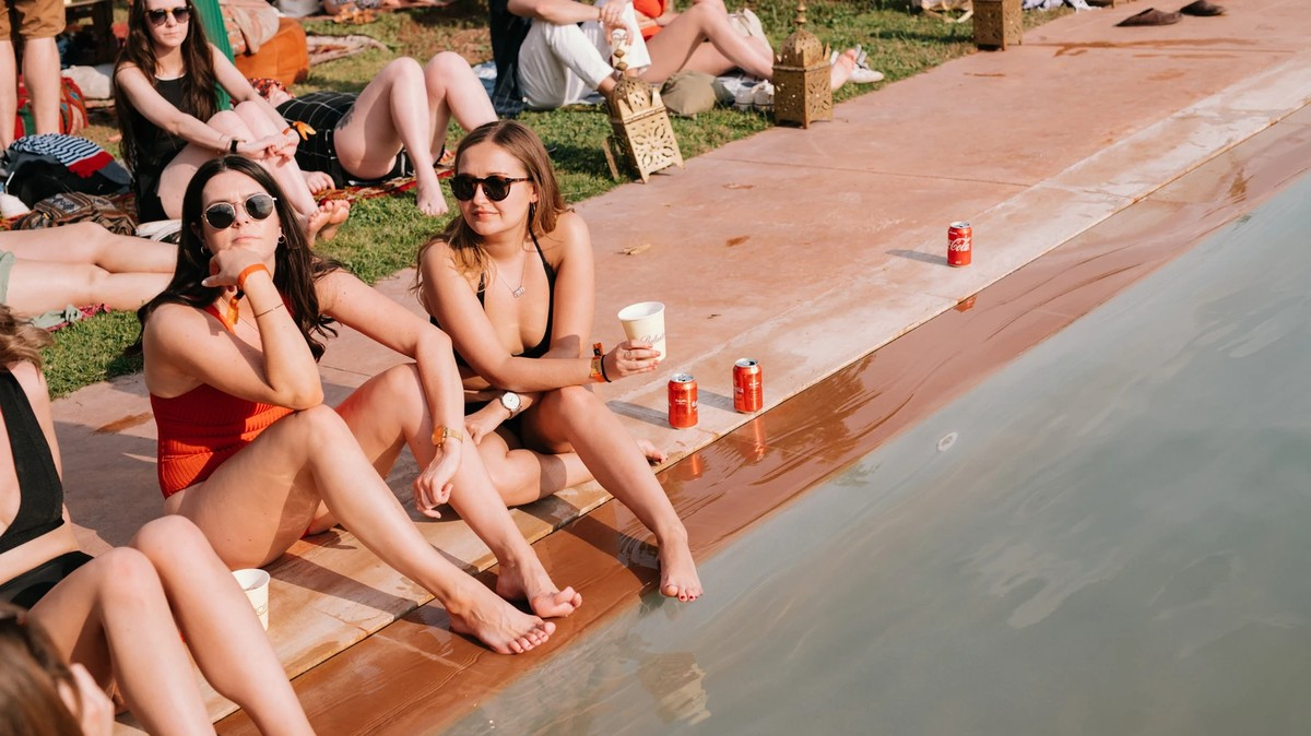 Join MUNCHIES at Beat Hotel Marrakech for a Poolside Taco Feast