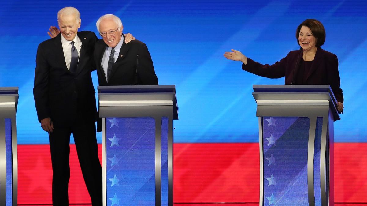 , The Democratic Debate Was a Weird Lovefest, Especially After Iowa, Saubio Making Wealth