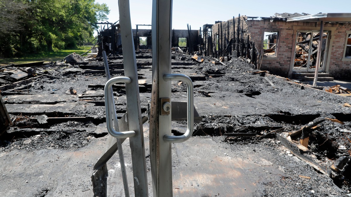 Son of Sheriff's Deputy Says He Burned Down 3 Black Churches to Boost His Black Metal Cred