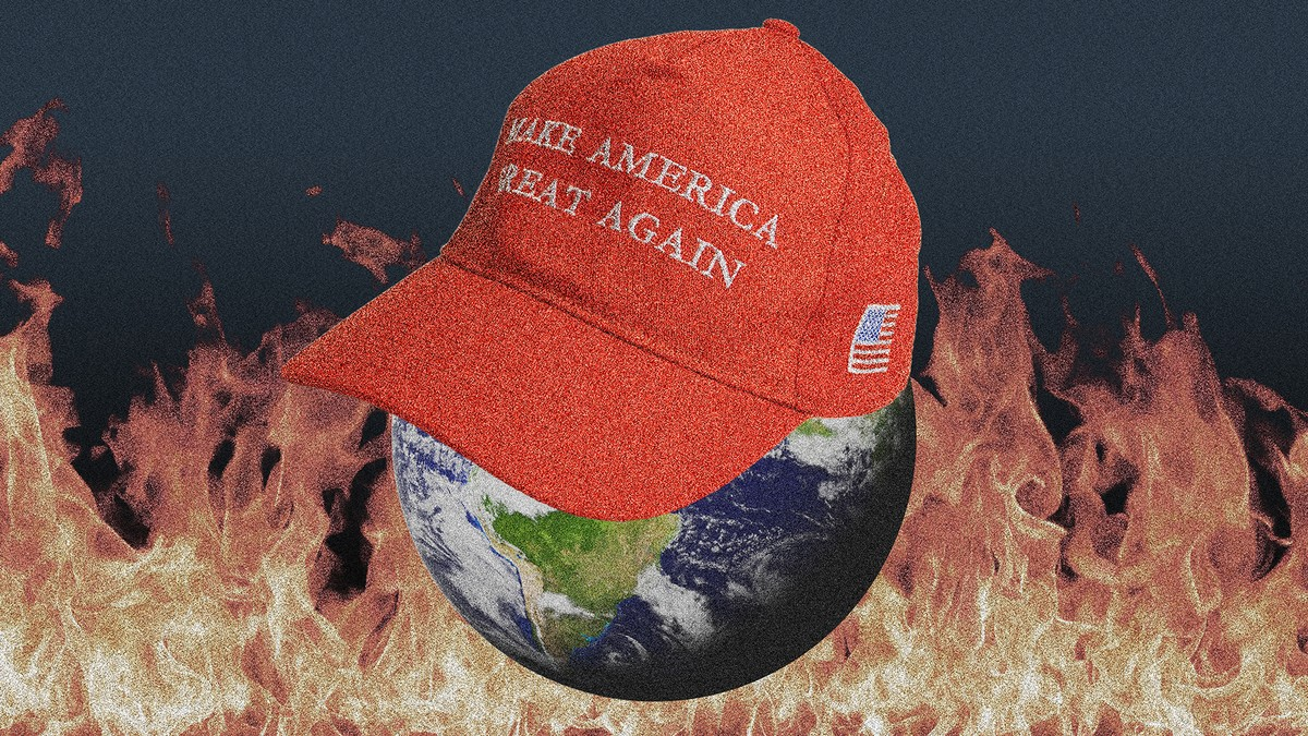Here's Exactly How a Trump 2020 Win Would Spark a Nightmare Climate Scenario