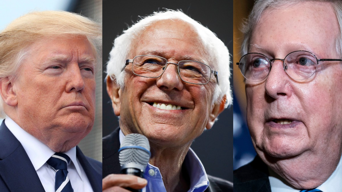 , Bernie Sanders and Trump Are Teaming Up Against Mitch McConnell to Get You $2,000, Saubio Making Wealth