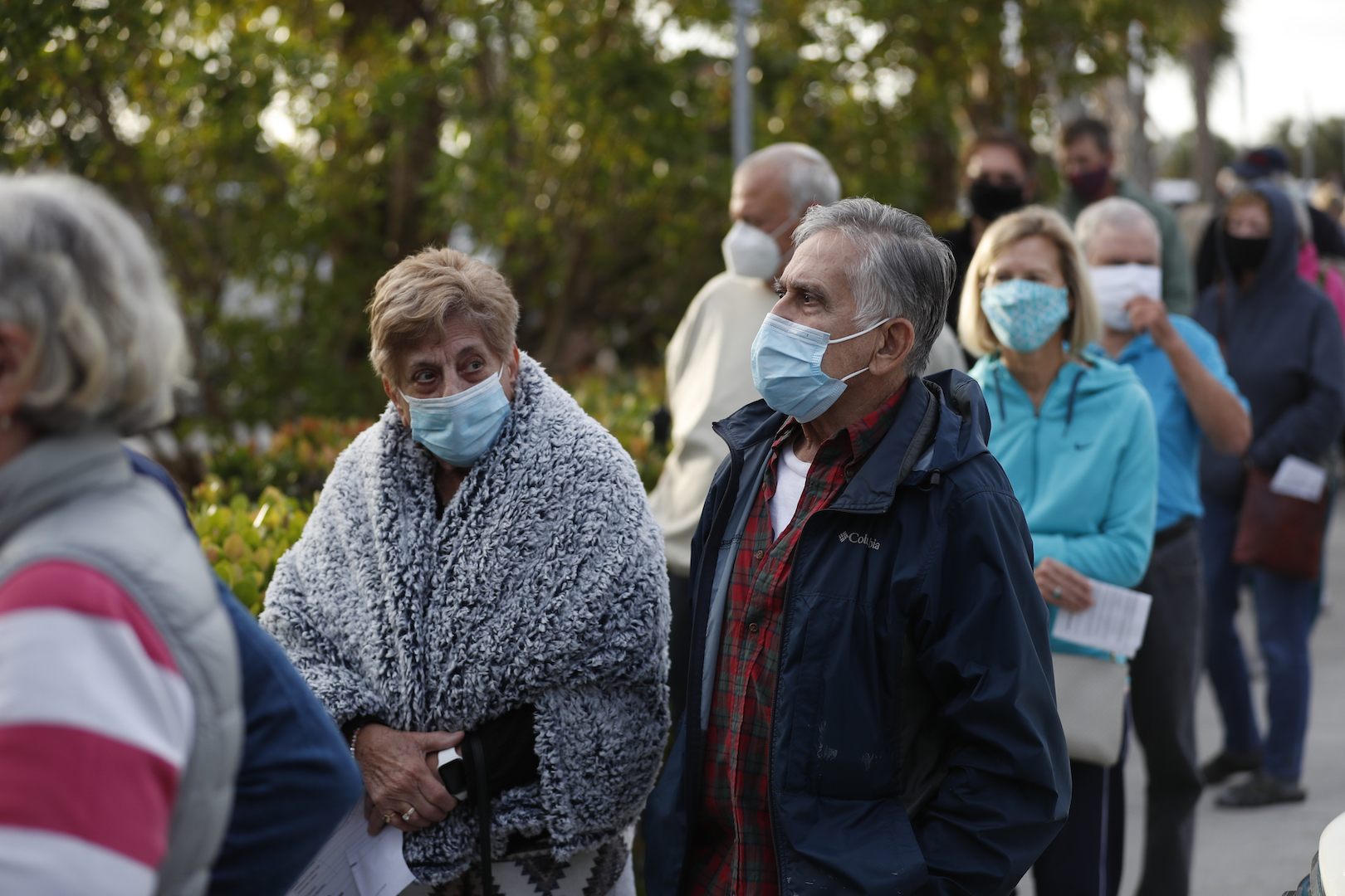 , Florida's Disastrous Vaccine Rollout Has Seniors Camping Out for Shots, Saubio Making Wealth