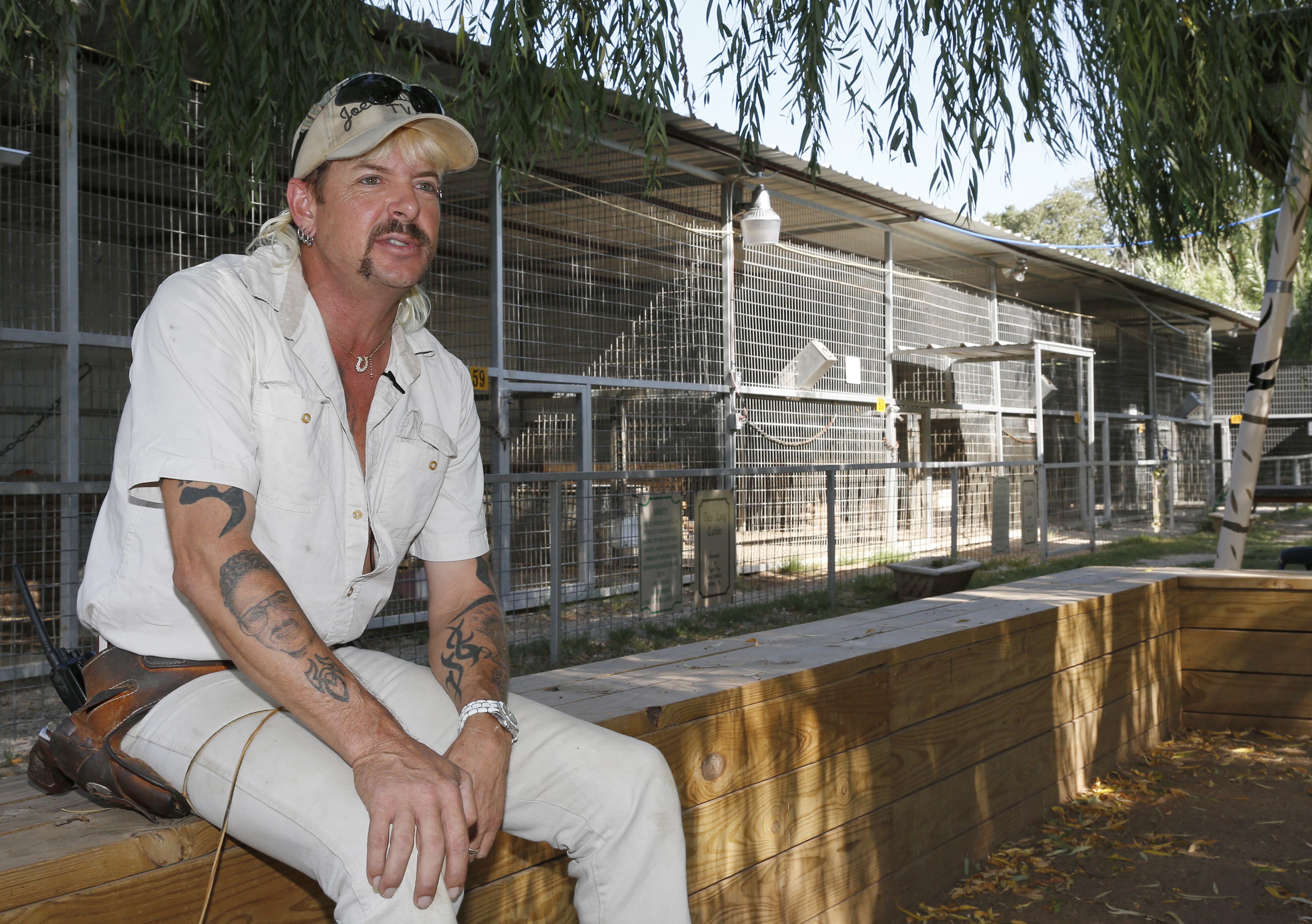 , Joe Exotic Says He Was 'Too Gay' to Get a Pardon From Trump, Saubio Making Wealth