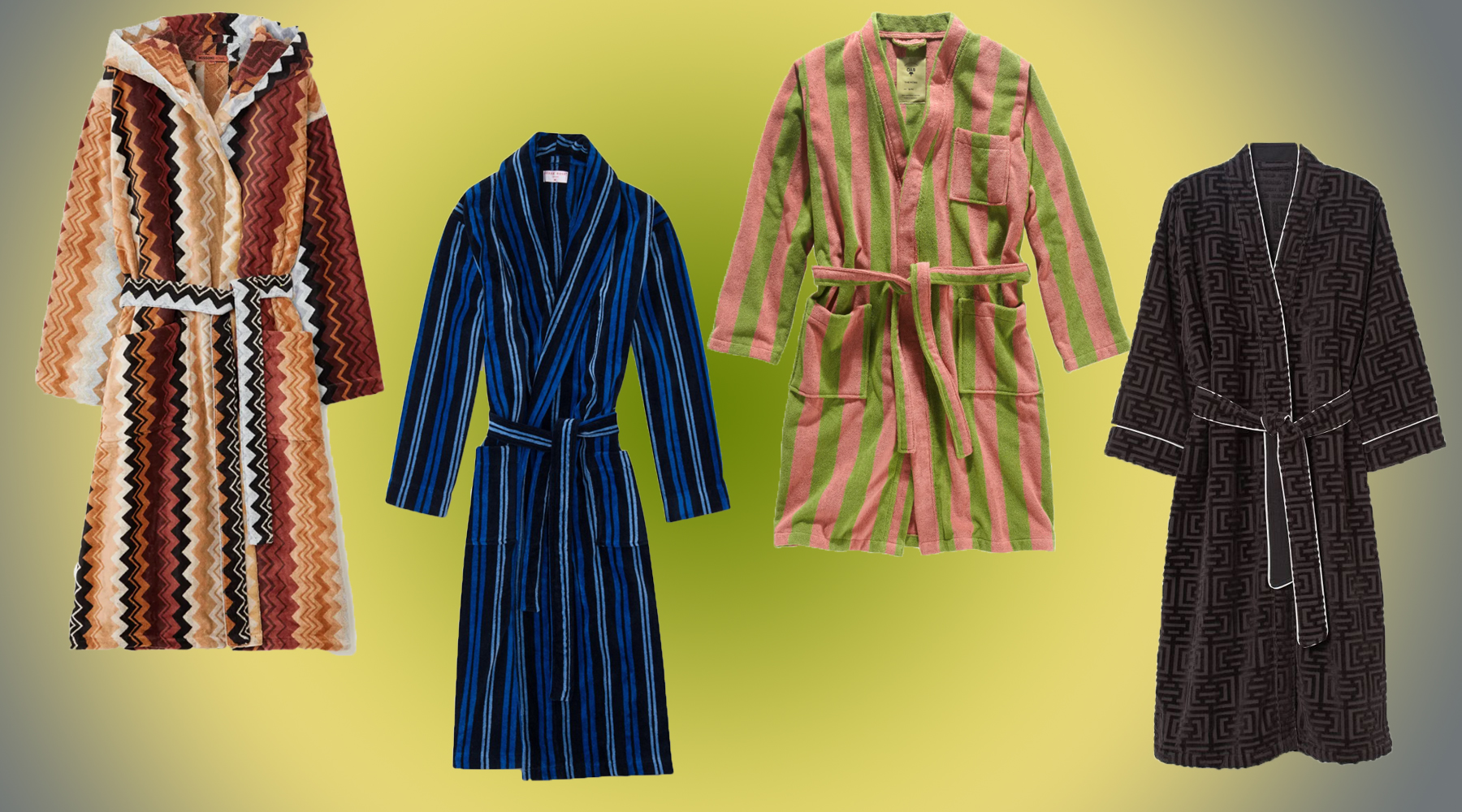 The Best Retro Bathrobes For Adding A Vintage Vibe To Your Quarantine Life