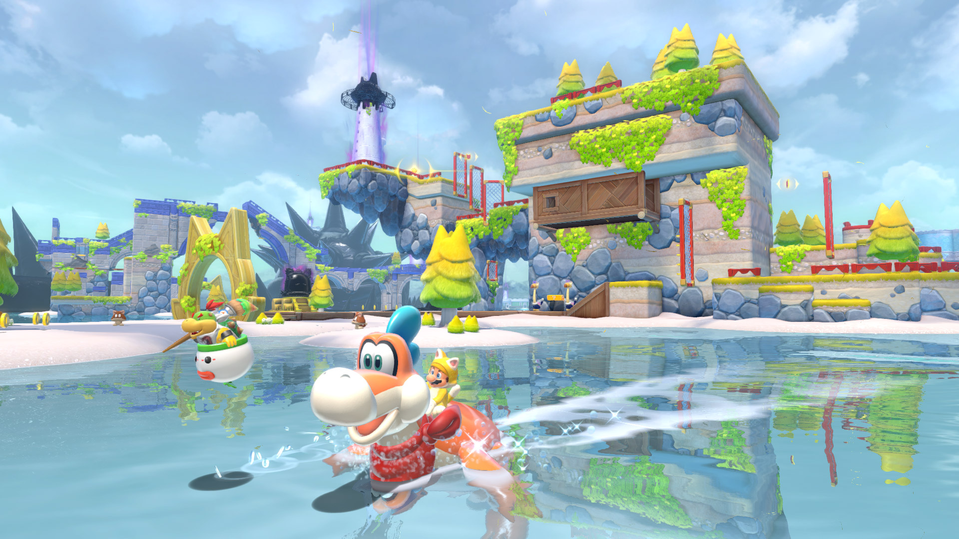 'Bowser's Fury' Drops Mario into an Open World and It's Spectacular