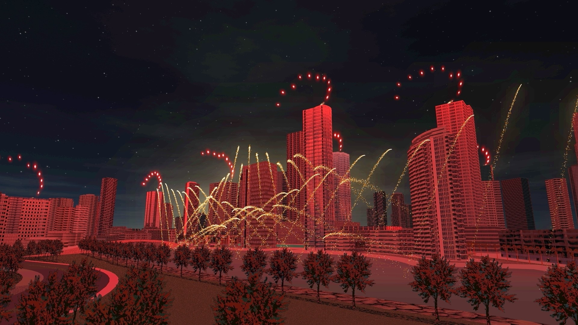The Pyro Enthusiast Who Built Their Own Professional Fireworks Simulator