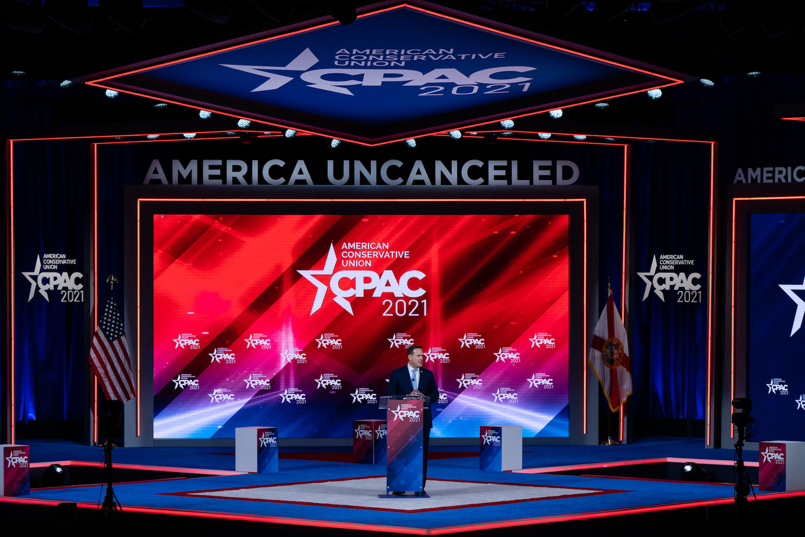 CPAC Stage Designers Swear Nazi Symbol Was an Accident and Stop Being Mean - vice