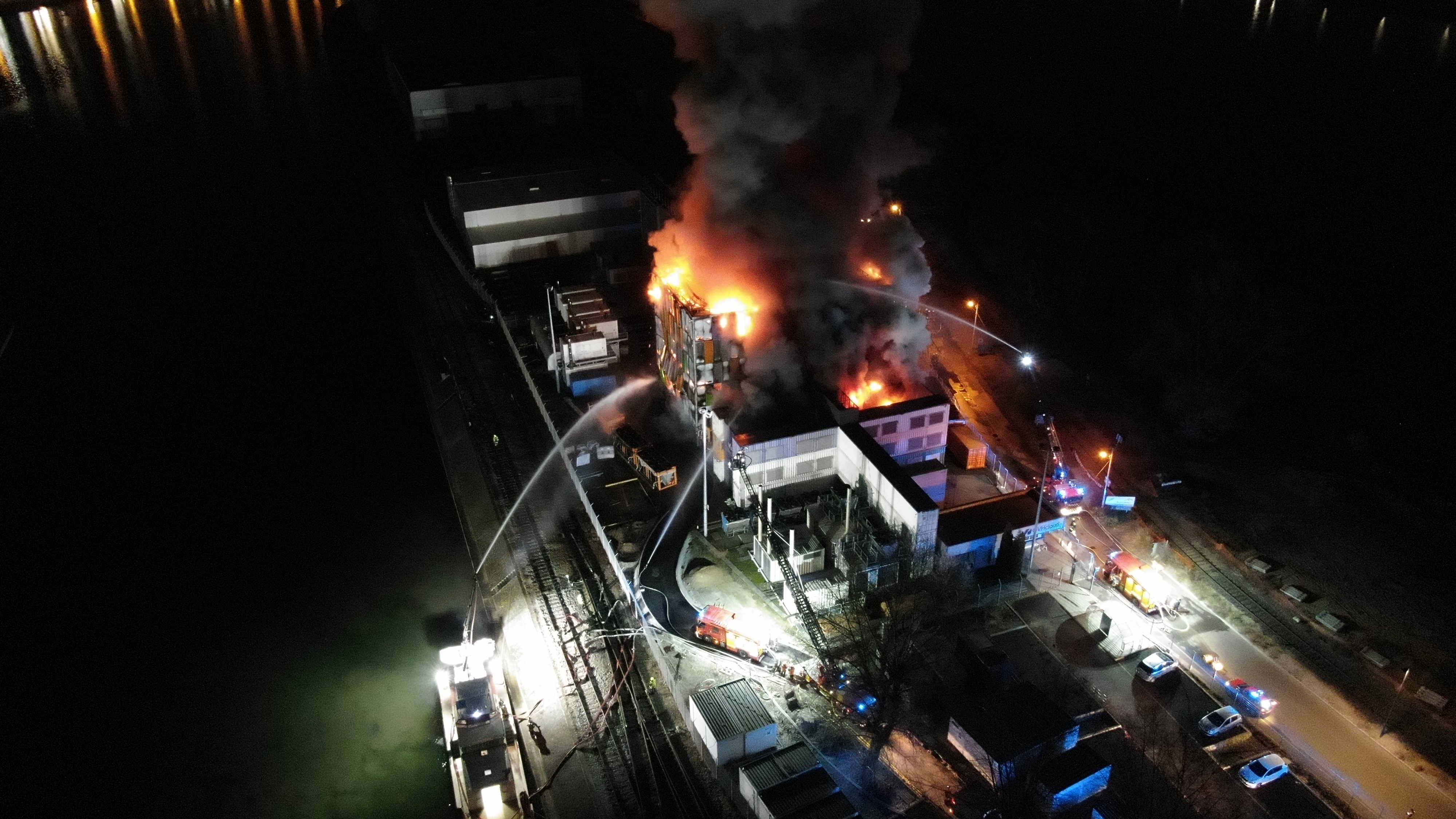 Fire Destroys the European Datacenter Containing 'Rust' Data