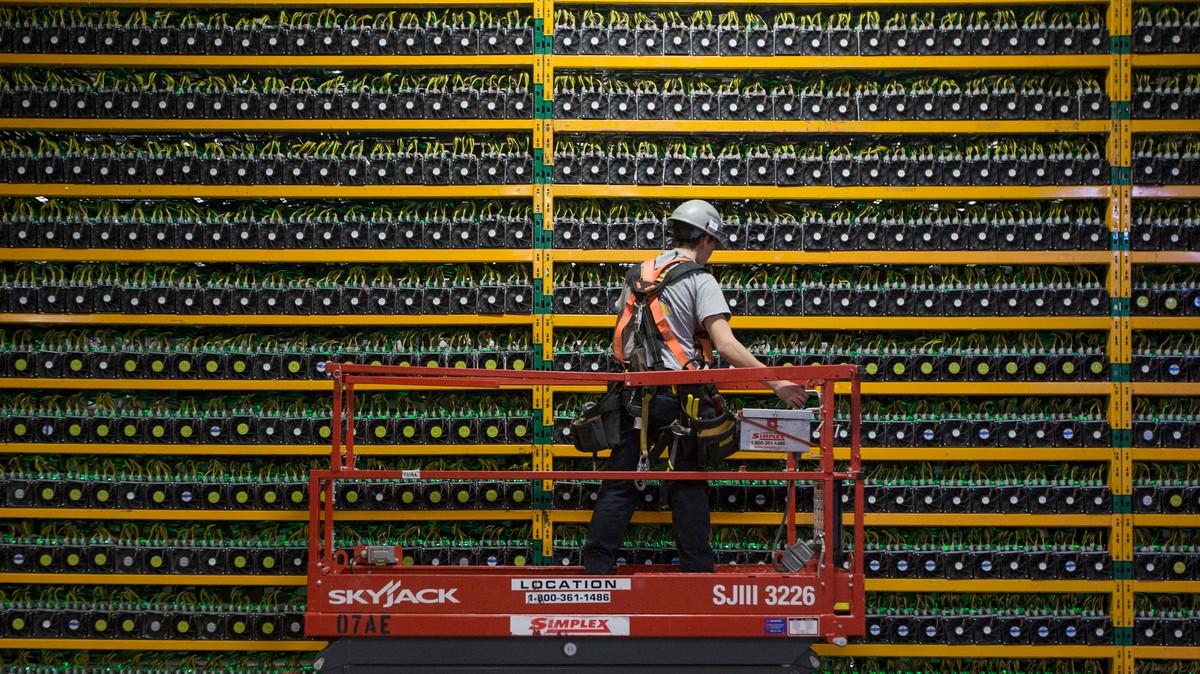 bitcoin mining potenza libera)
