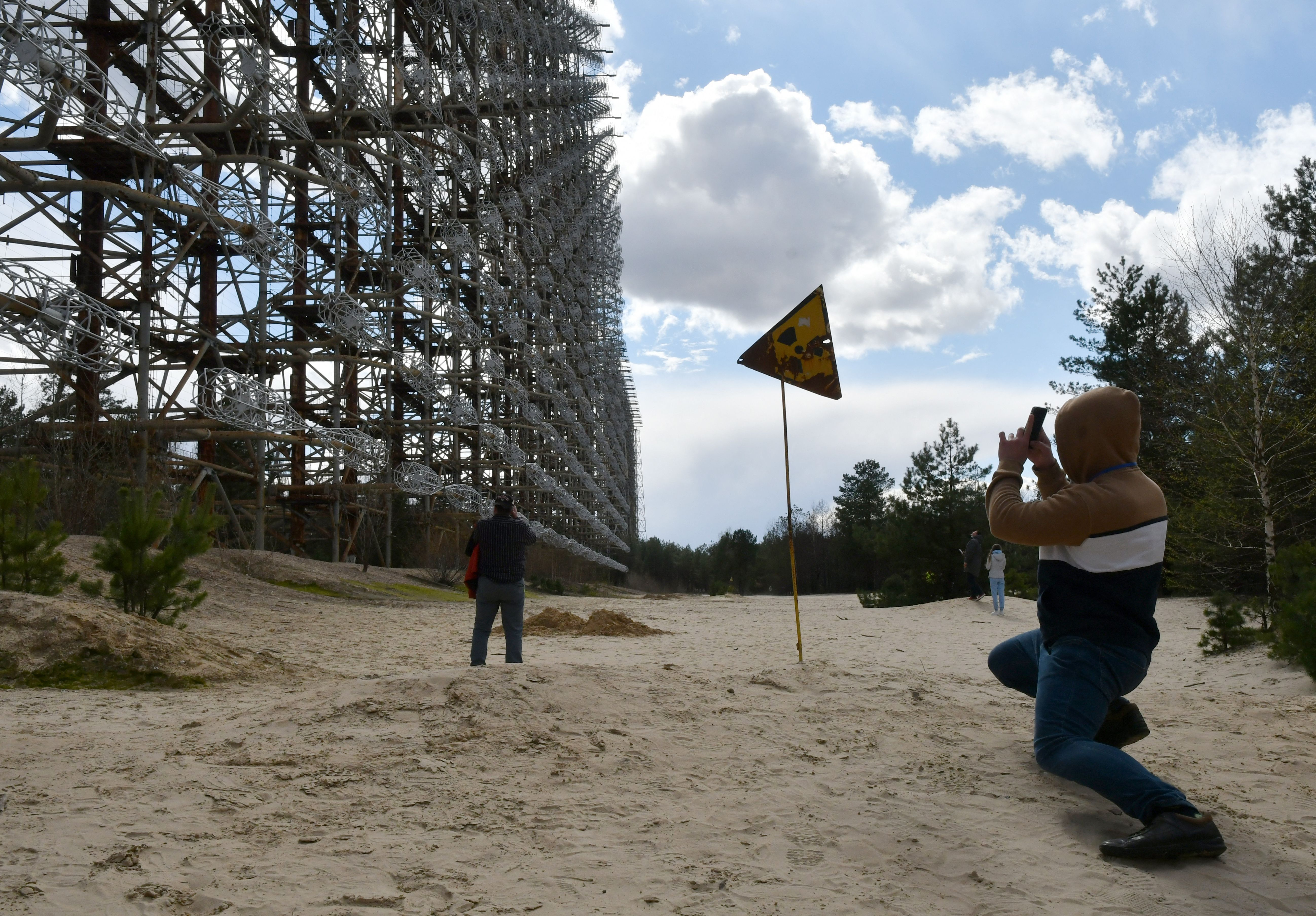 A Missile Radar in the Chernobyl Exclusion Zone Is Now a Protected Heritage Site