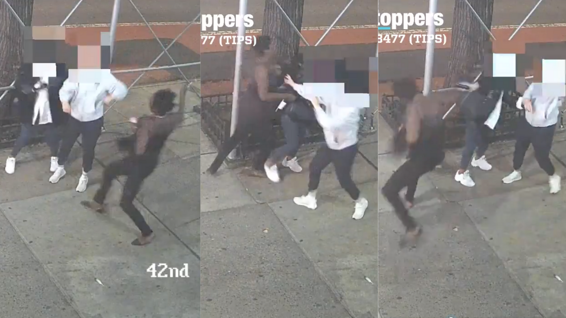 Attacker With Hammer Caught on Video Hitting Asian Woman in New York City