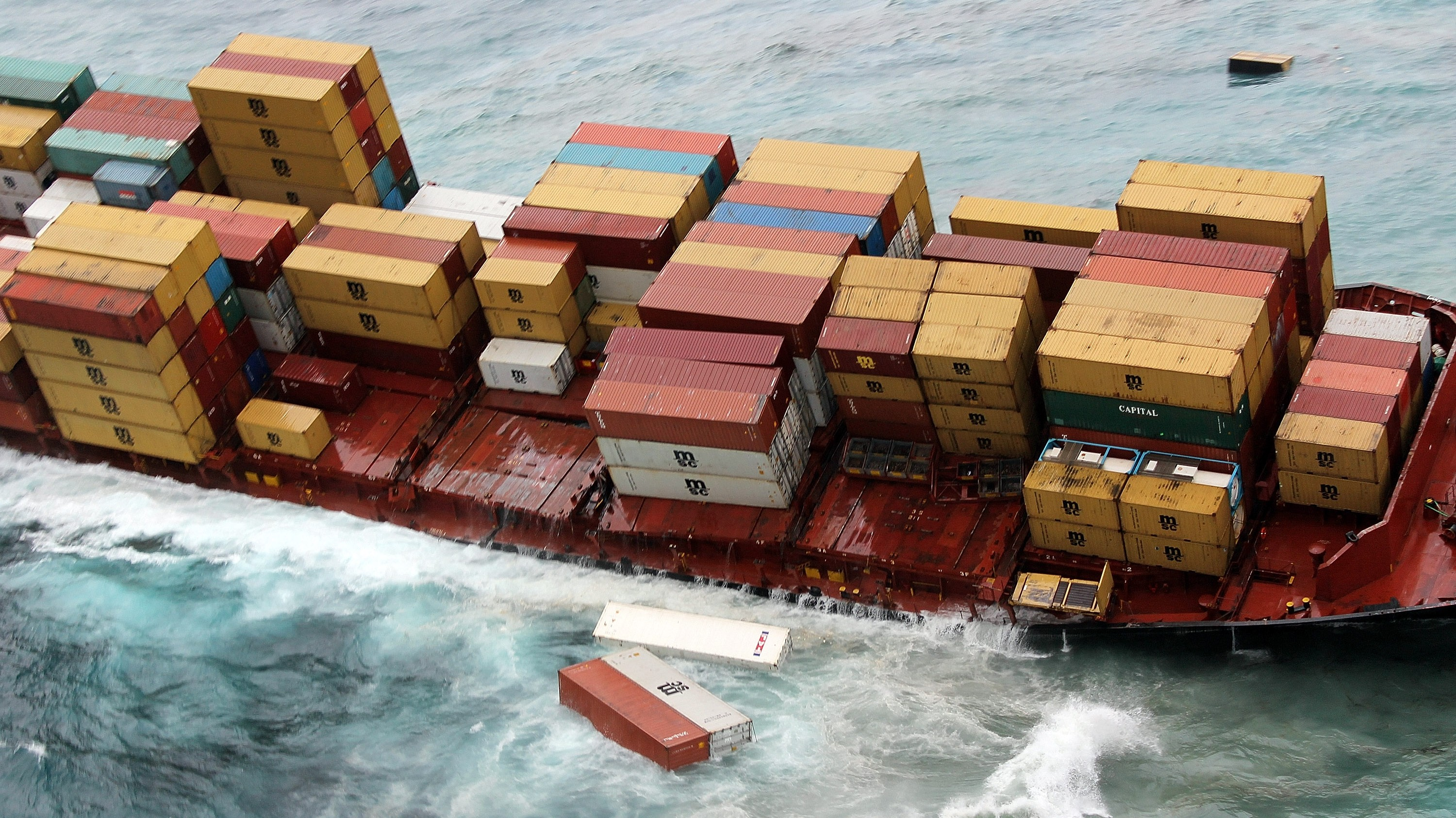 Giant Ships Are Polluting the Seas With Thousands of Lost Cargo Containers