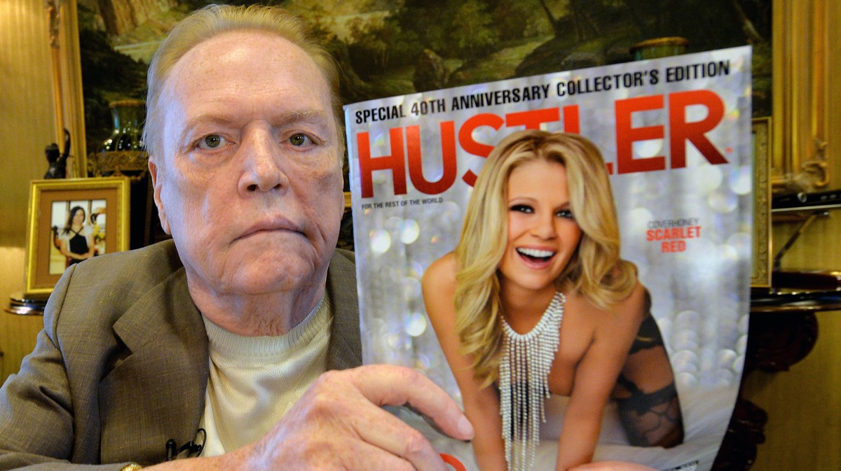 'Fuck This Court': We Obtained Larry Flynt's FBI File and It's Pretty Wild