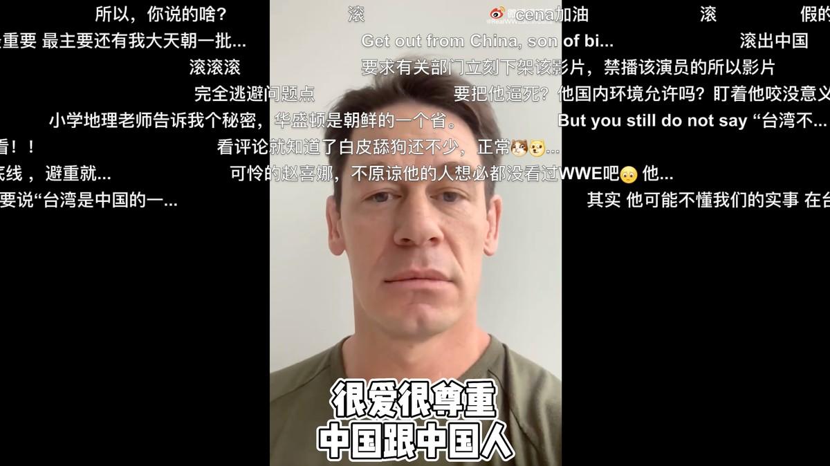 Menyebut Taiwan sebagai Negara, John Cena Dipaksa untuk Minta Maaf ke Tiongkok