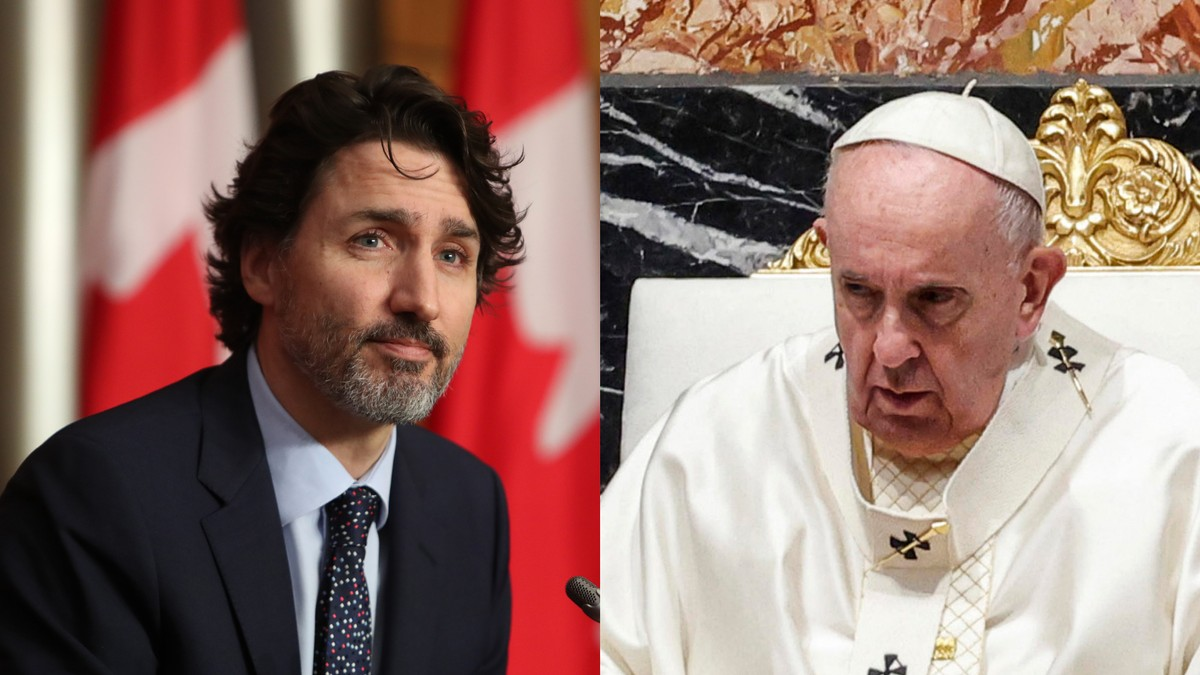 Catholic Church Calls Justin Trudeau 'Uninformed' Amid Demands It Release Residential School Records