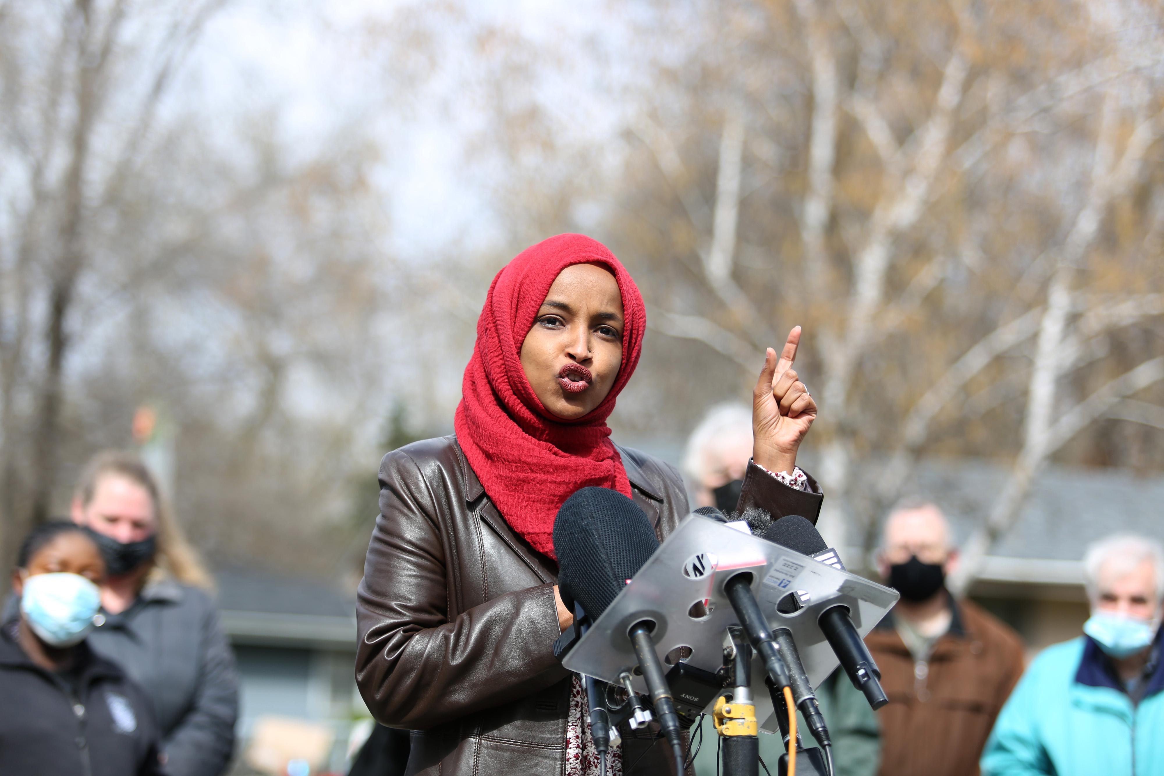 Ilhan Omar Blasts 'Islamophobic' Letter From Jewish Democrats