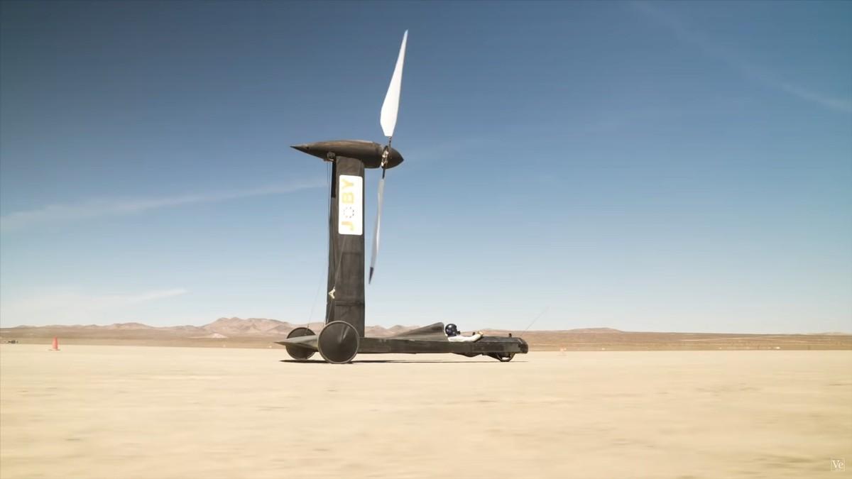 YouTuber Sukses Bikin Mobil Tenaga Angin, Menang Taruhan Rp145 Juta lawan Ilmuwan