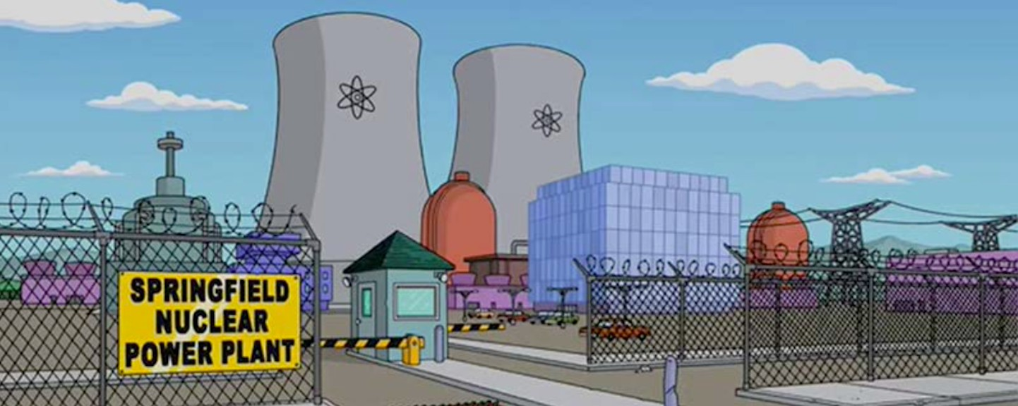 One of the fictional workplaces that I'd rather die than work at is the Springfield Nuclear Power Plant from the Simpsons.