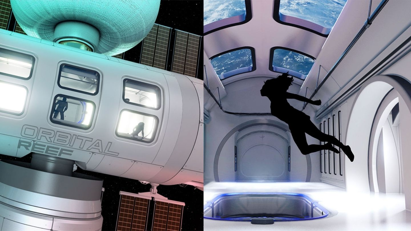 vice.com - Jeff Bezos Reveals Plans to Build a Space Station Called 'Orbital Reef' - VICE