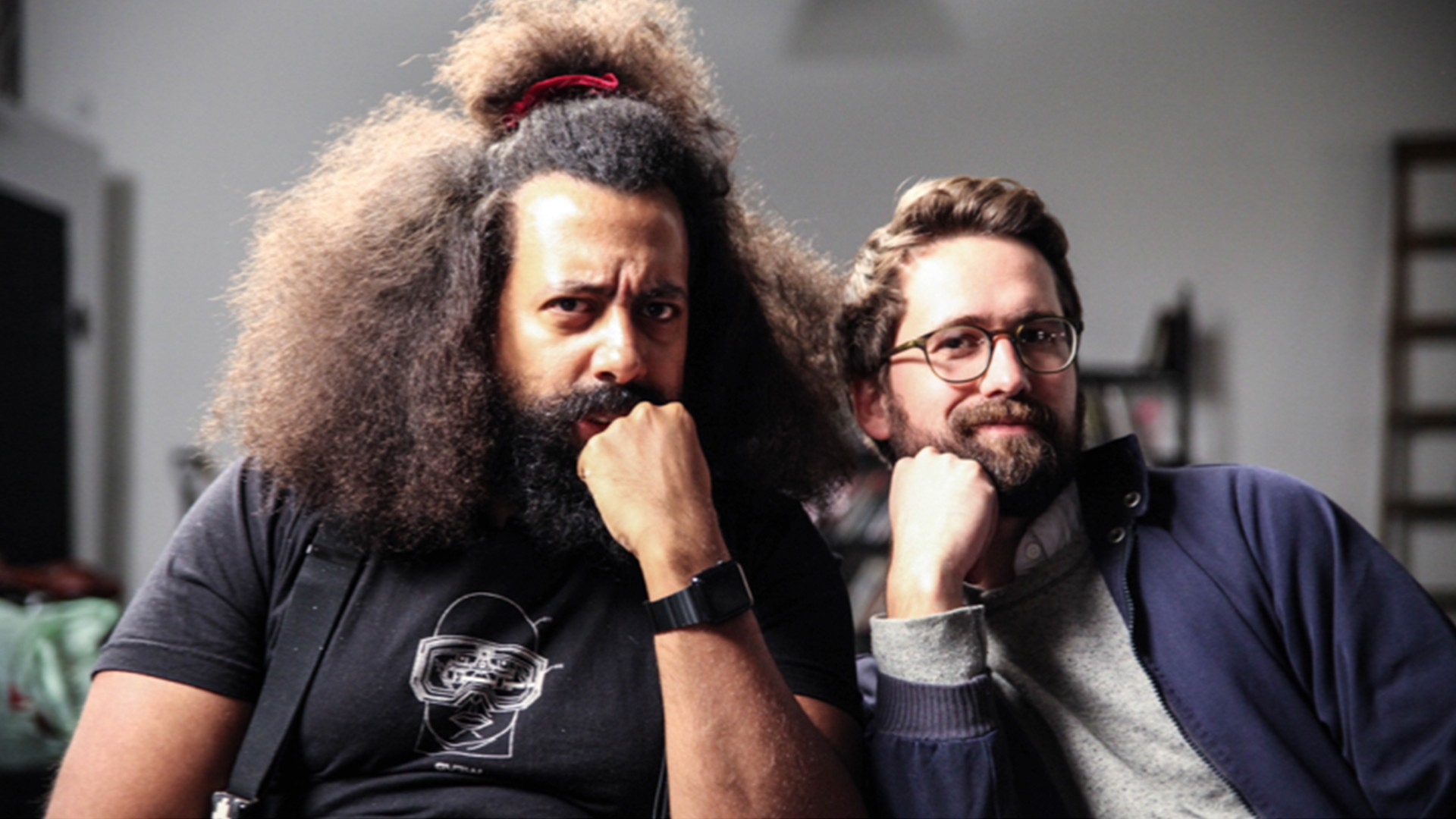 Reggie Watts and Benjamin Dickinson on the Dystopian Future