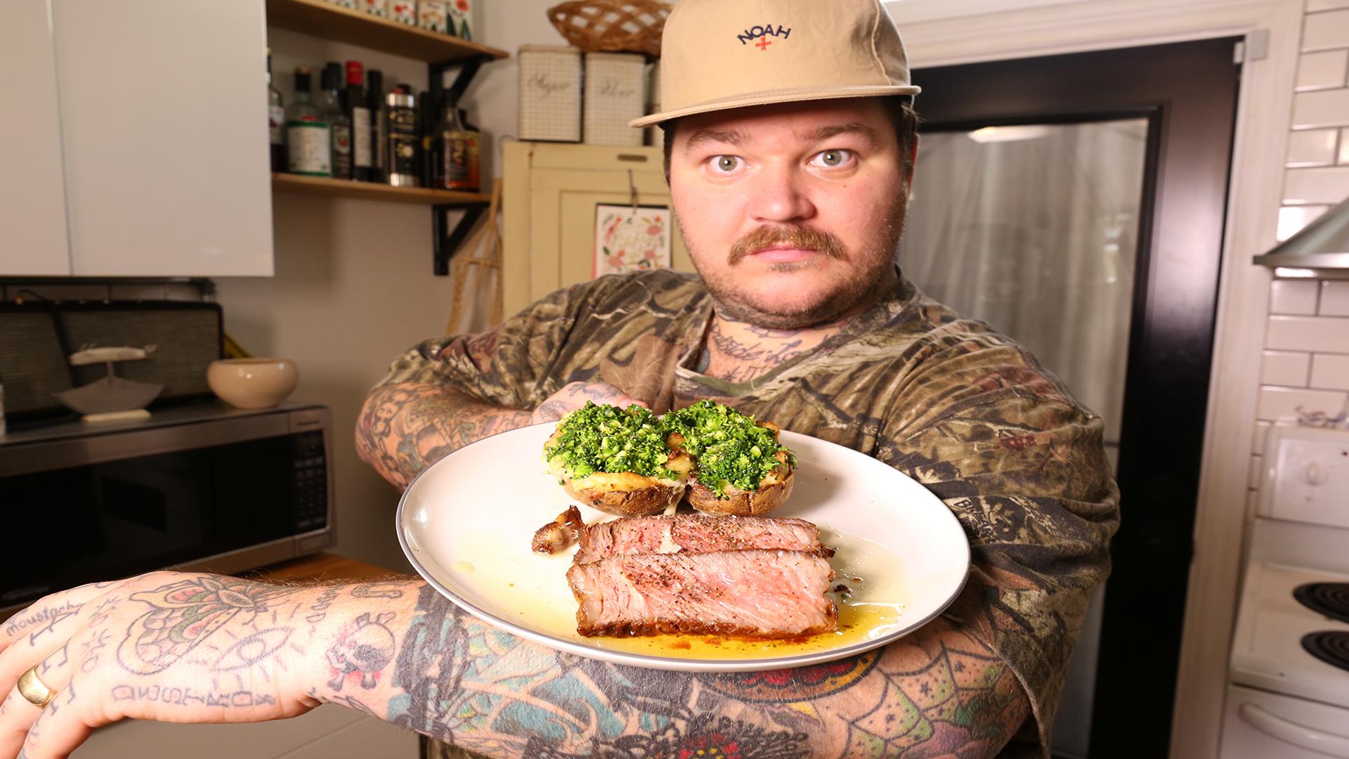 Perfect Rib-Eye Steak