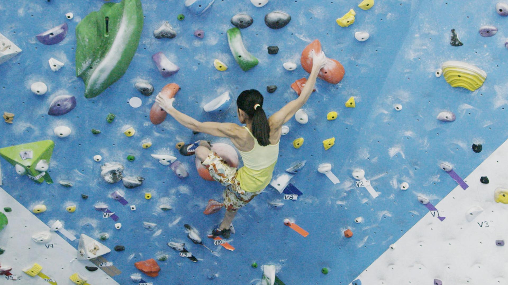 The 14-Year-Old Female Rock Climbing Phenom