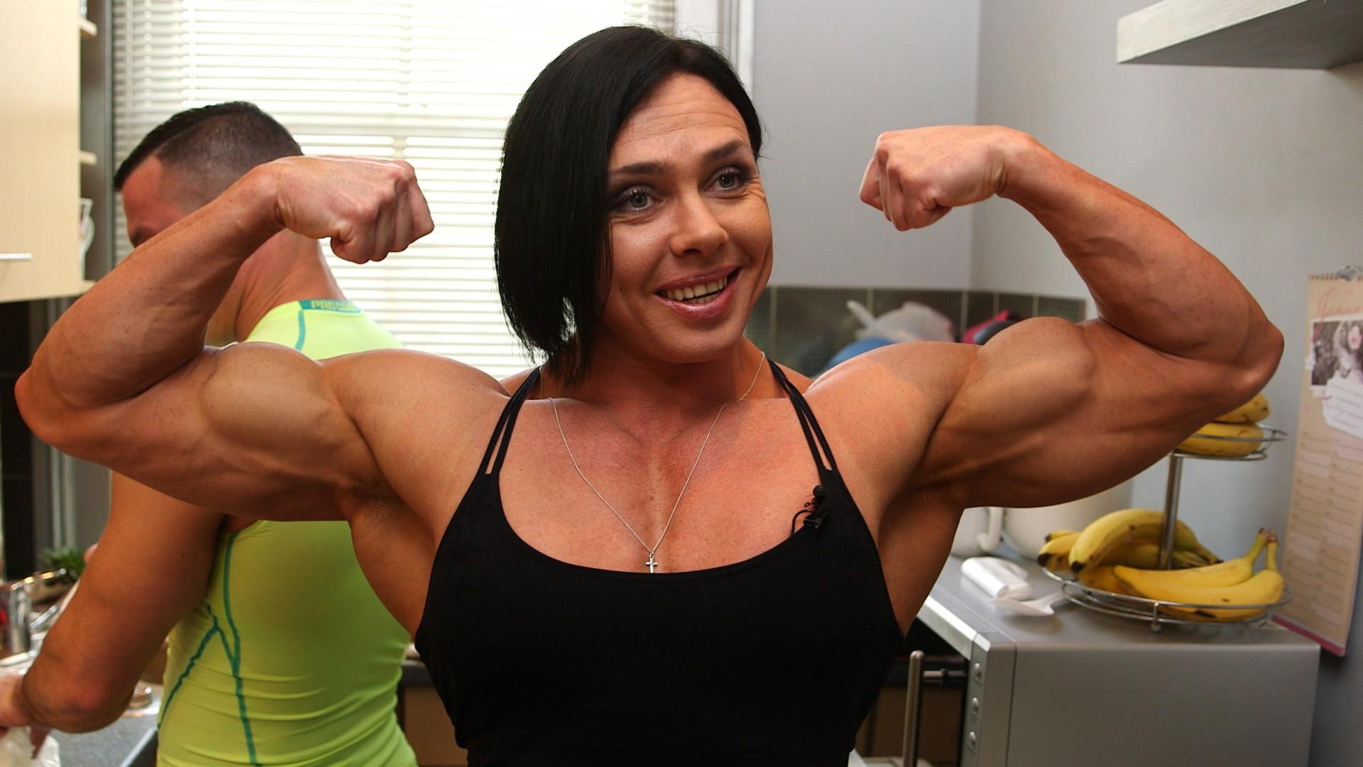 Самые накаченные девушки украины, Как выглядит самая мускулистая девушка в мире 27 фотография
