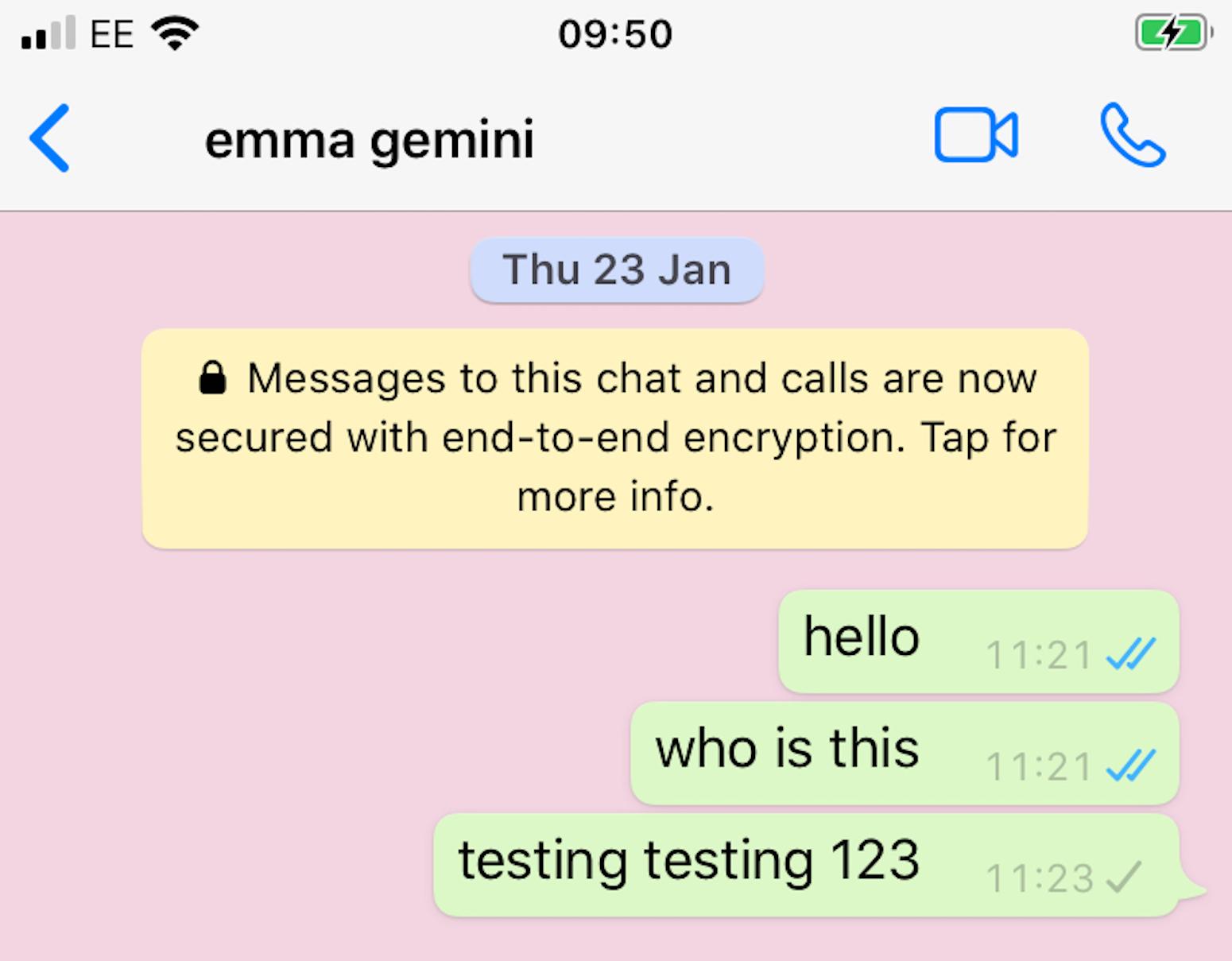Random Contacts List iPhone Conversation VICE