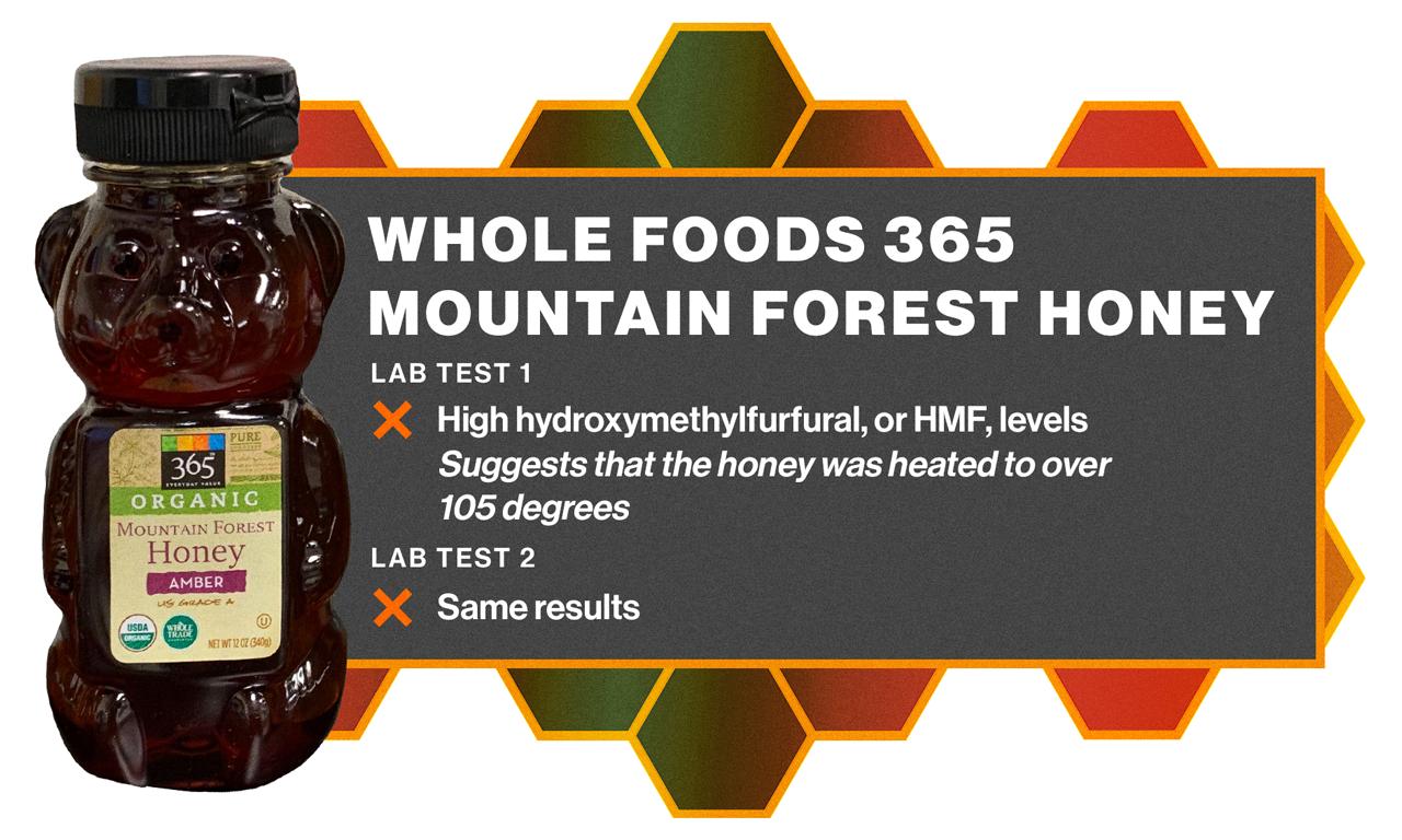 Whole Foods honey